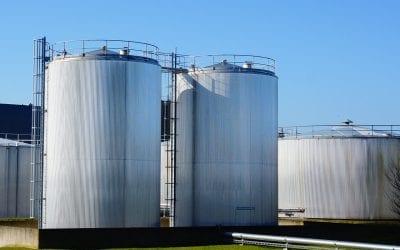 Jönköping Energi bygger ny ackumulatortank på Torsvik