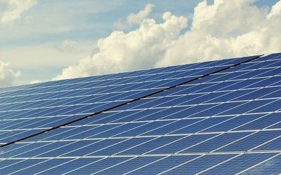 Bostadsministern invigde solceller i Flogsta